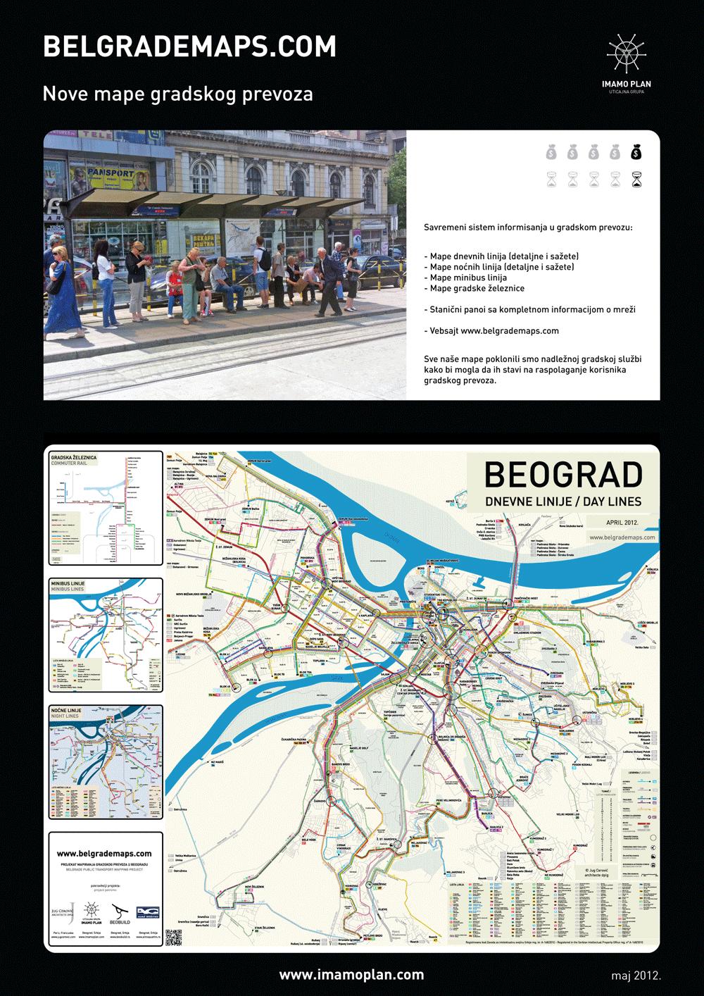 mapa beograda sa gradskim prevozom BelgradeMaps : Imamo Plan mapa beograda sa gradskim prevozom