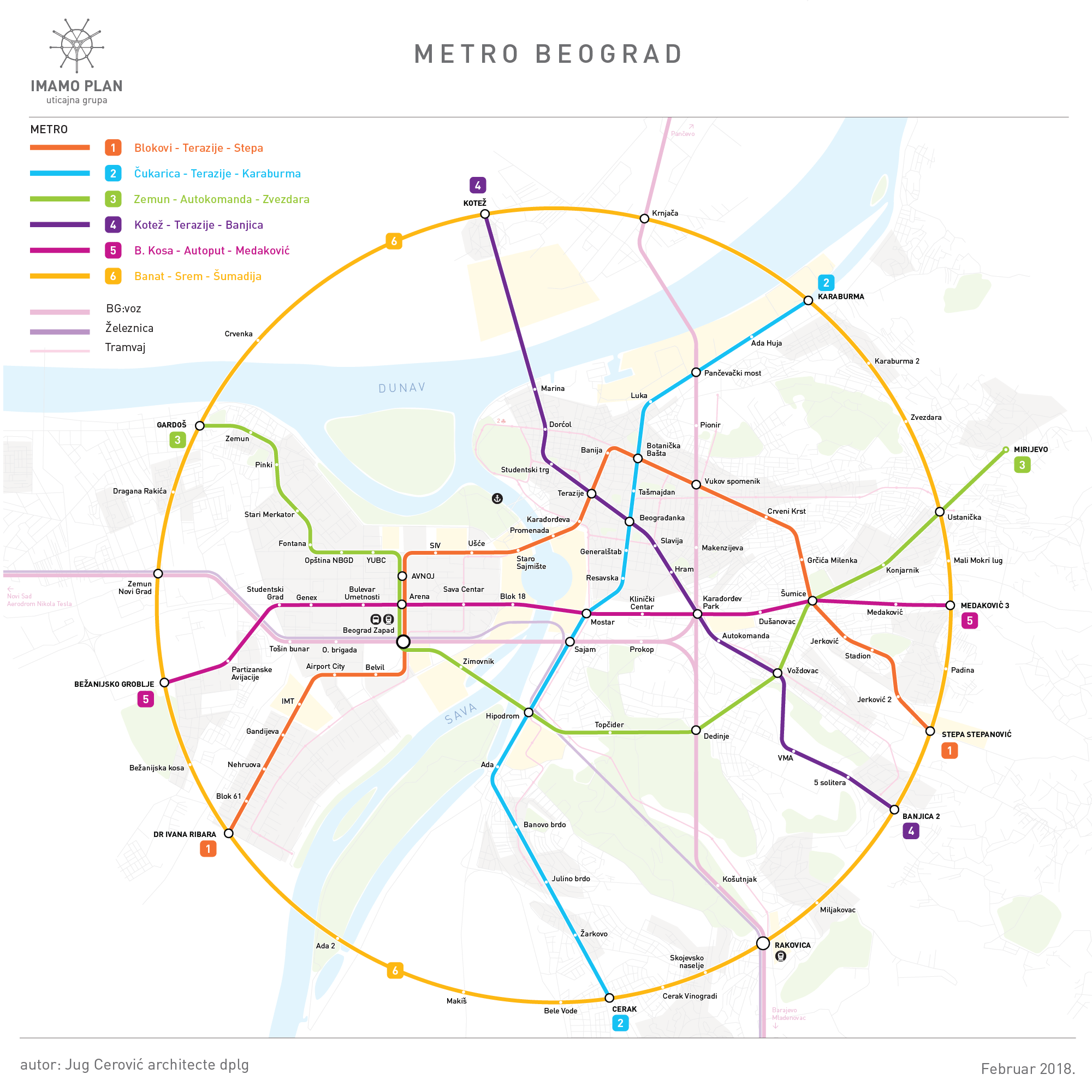 mapa metroa beograd Metro Beograd : Imamo Plan mapa metroa beograd