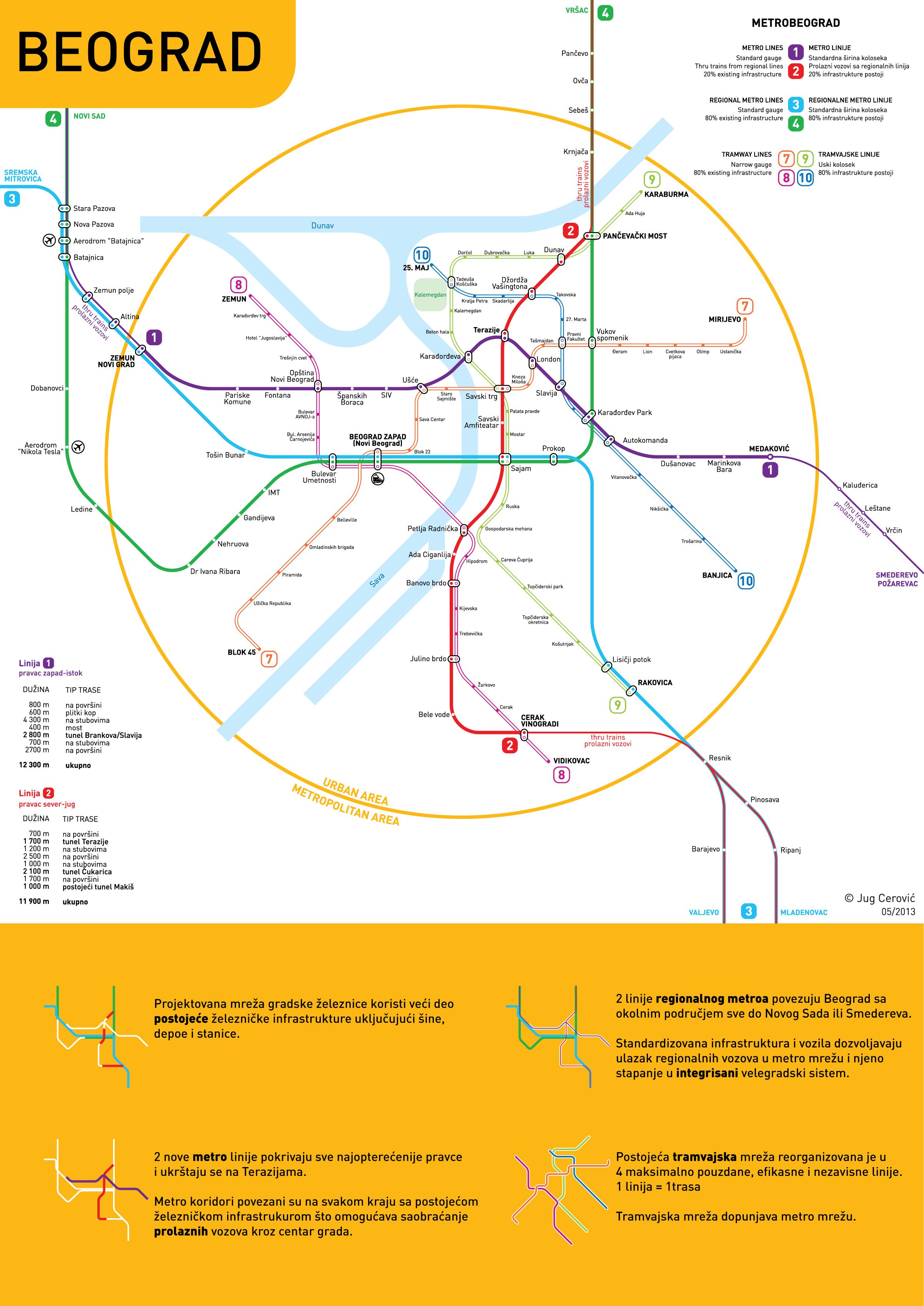 metro beograd mapa Metro Beograd : Imamo Plan metro beograd mapa